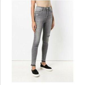 Current/Elliott Jeans - Current/Elliott Ultra High Waist Skinny Jeans Sz24